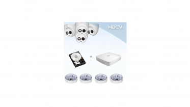 HDCVI DOME KIT OUT